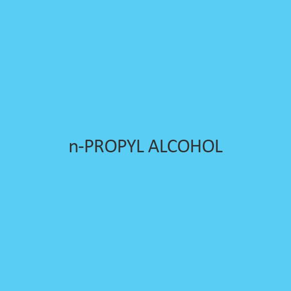 N Propyl Alcohol