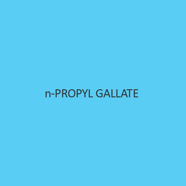 N Propyl Gallate (N Propyl 3 4 5 Trihydroxy Benzoate) (Antioxidant)