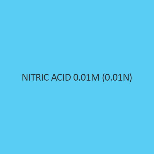 Nitric Acid 0.01M (0.01N) Standardized Solution