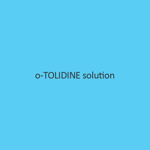 o Tolidine solution