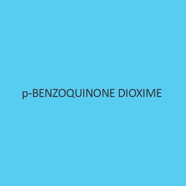 P Benzoquinone Dioxime Pure