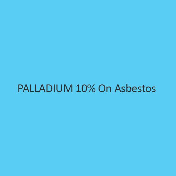 Palladium 10 Percent On Asbestos Palladium Content