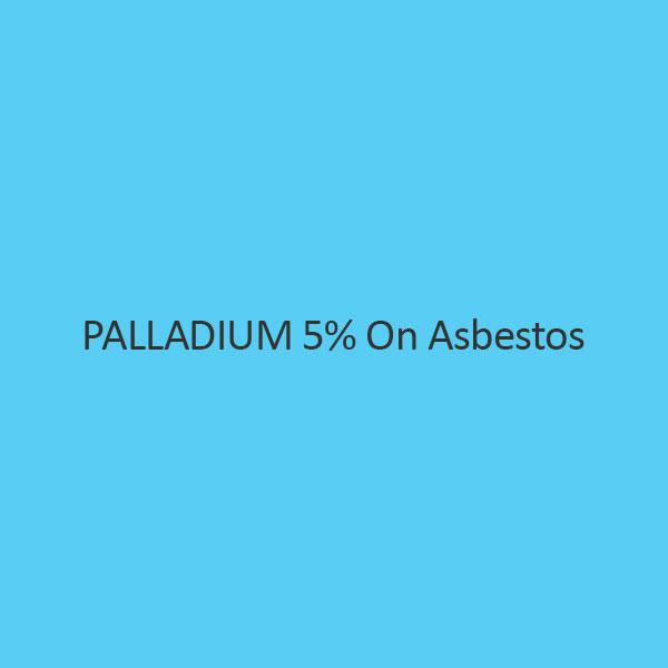 Palladium 5 Percent On Asbestos Palladium Content