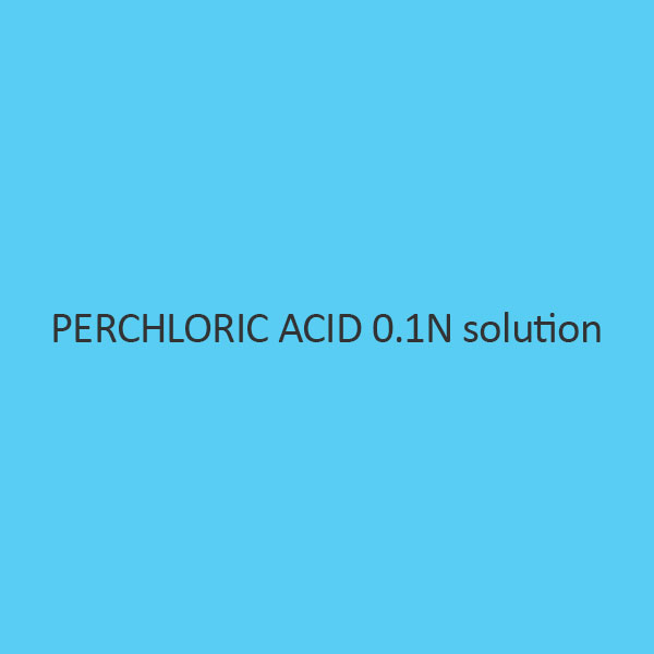 Perchloric Acid 0.1N Solution (In Acetic Acid Glacial)