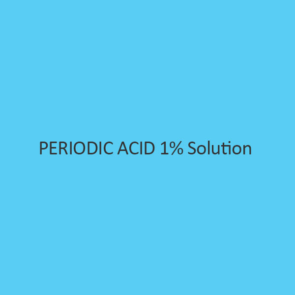 Periodic Acid 1 Percent Solution
