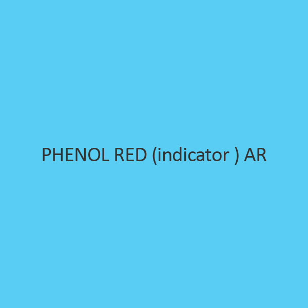 Phenol Red (Indicator ) AR