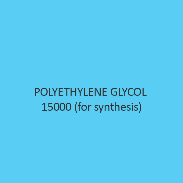 Polyethylene Glycol 15000 (For Synthesis) (Carbowax 15000)