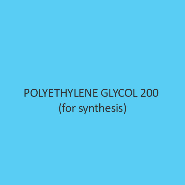 Polyethylene Glycol 200 (For Synthesis)