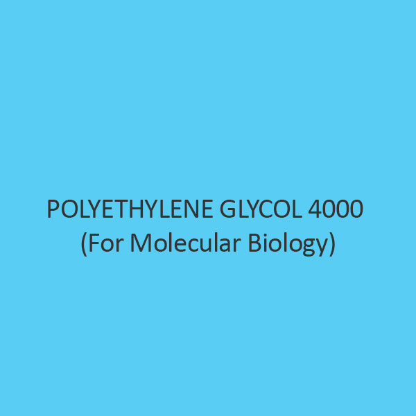 Polyethylene Glycol 4000 (For Molecular Biology)