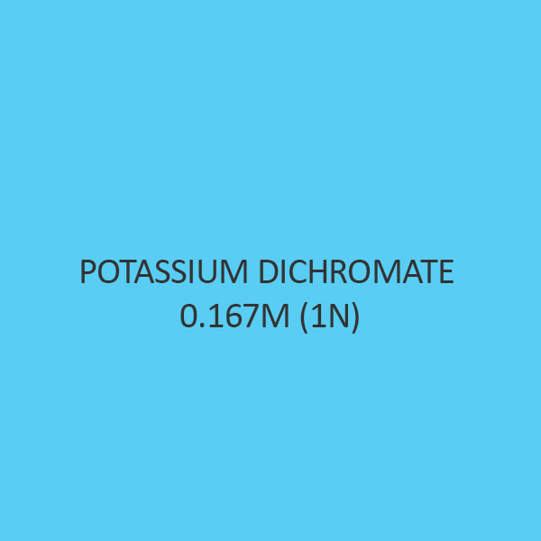 Potassium Dichromate 0.167M (1N)