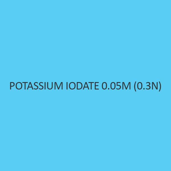 Potassium Iodate 0.05M (0.3N)