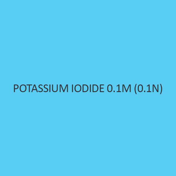 Potassium Iodide 0.1M (0.1N)