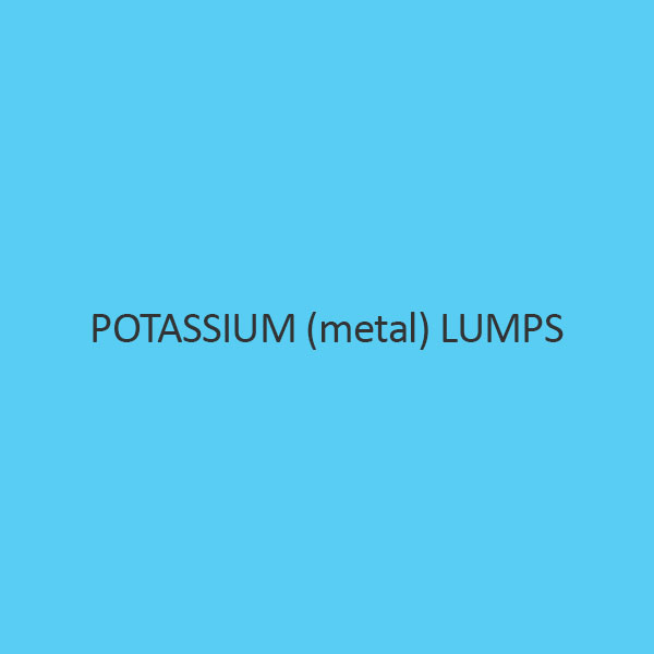 Potassium (Metal) Lumps (In Liquid Paraffin)