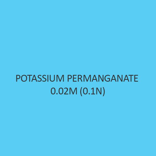 Potassium Permanganate 0.02M (0.1N)