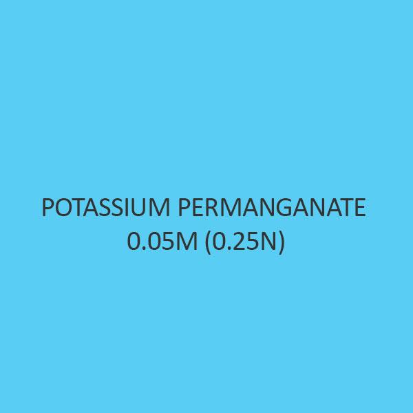 Potassium Permanganate 0.05M (0.25N)