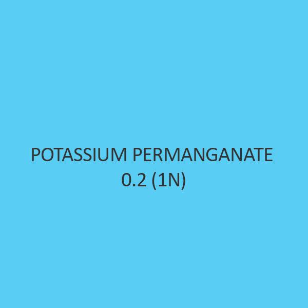 Potassium Permanganate 0.2 (1N)