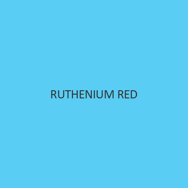 Ruthenium Red (Ru 34 Percent)