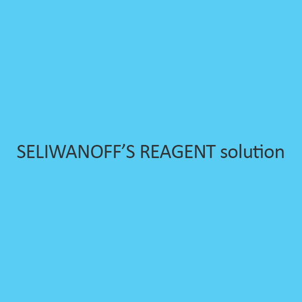 SeliwanoffS Reagent Solution