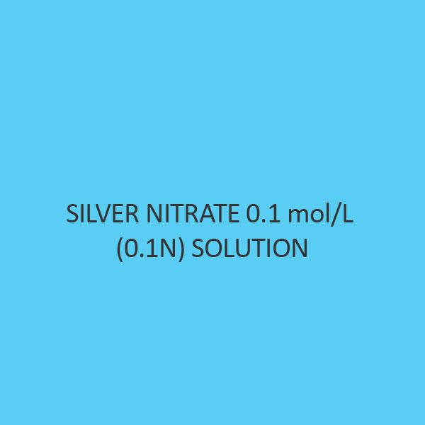 Silver Nitrate 0.1 Mol per L (0.1N) Solution