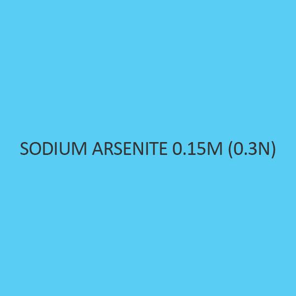 Sodium Arsenate 0.15M (0.3N) Standardized Solution