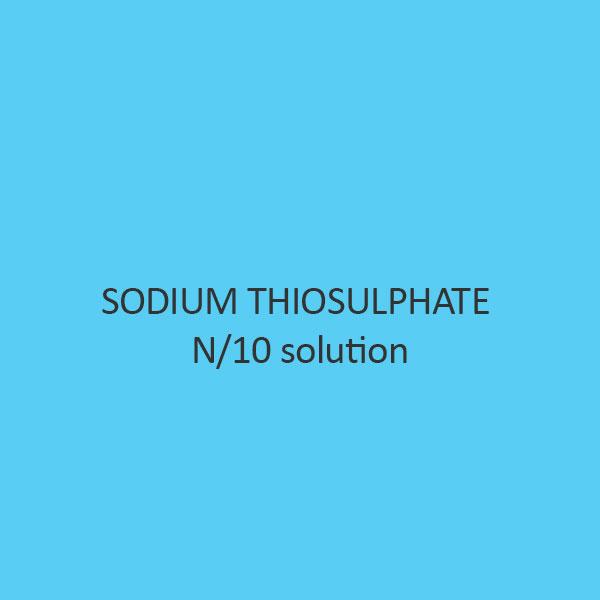 Sodium Thiosulphate N per 10 solution