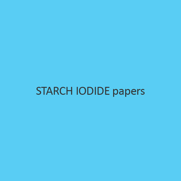 Starch Iodide papers