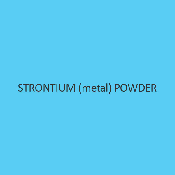 Strontium (metal) Powder