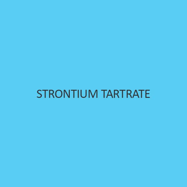 Strontium Tartrate