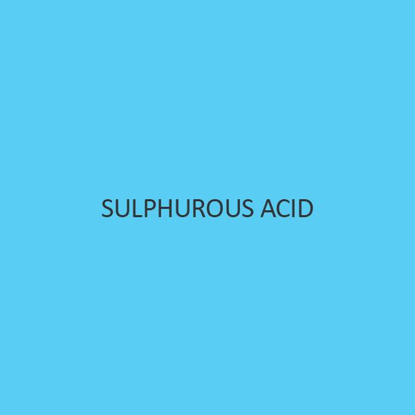 Sulphurous Acid