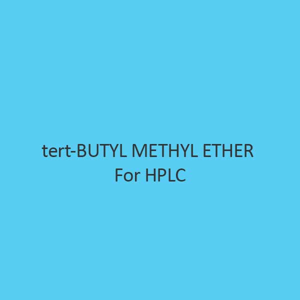 Tert Butyl Methyl Ether For Hplc