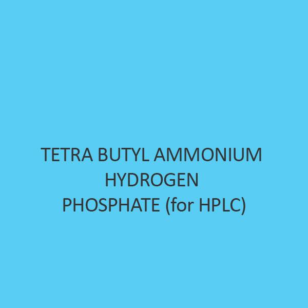 Tetra Butyl Ammonium Hydrogen Phosphate