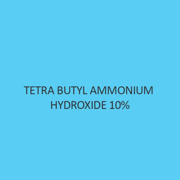 Tetra Butyl Ammonium Hydroxide 10 percent aqueous solution