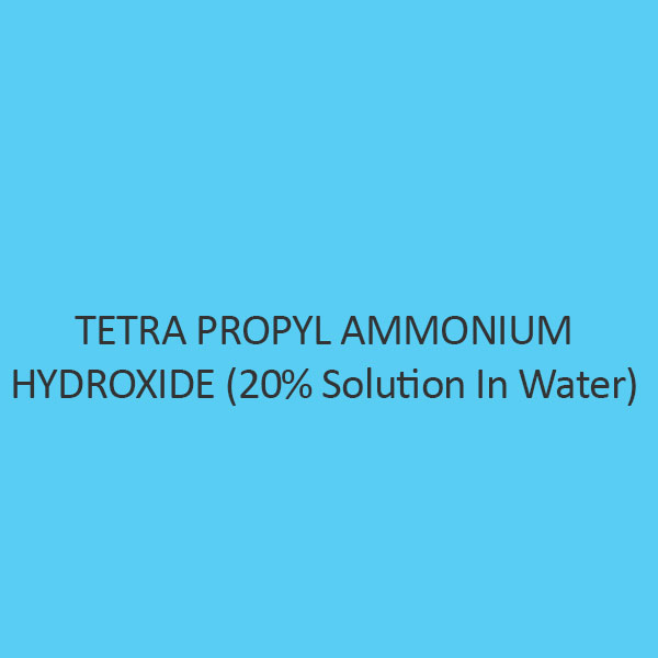 Tetra Propyl Ammonium Hydroxide (20 percent Solution In Water)