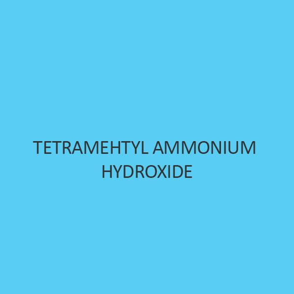 Tetramehtyl Ammonium Hydroxide Solution 10 percent In Water