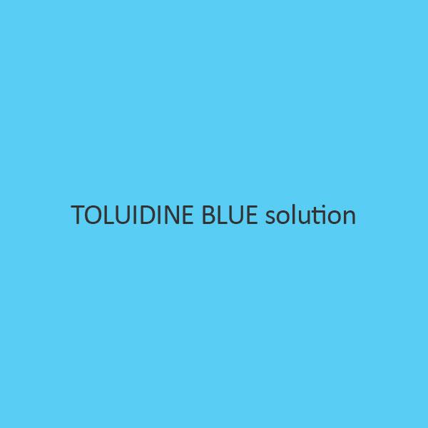 Toluidine Blue solution