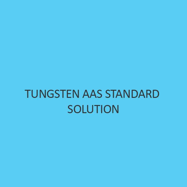 Tungsten AAS Standard Solution