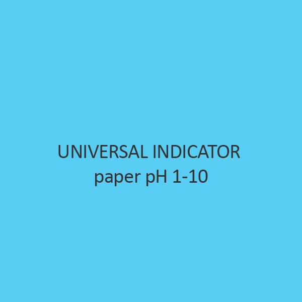 Universal Indicator paper pH 1 10