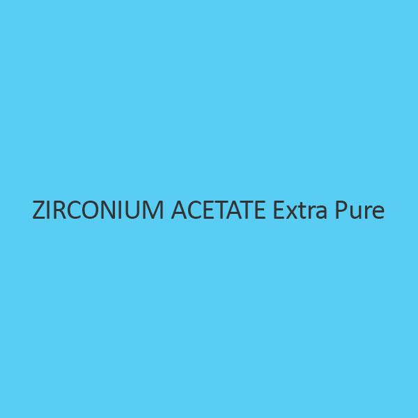 Zirconium Acetate Extra Pure