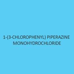 1 3 Chlorophenyl Piperazine Monohydrochloride