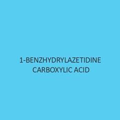 1 Benzhydrylazetidine Carboxylic Acid