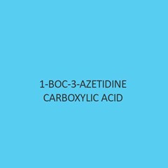 1 Boc 3 Azetidine Carboxylic Acid