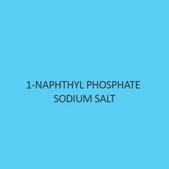 1 Naphthyl Phosphate Sodium Salt