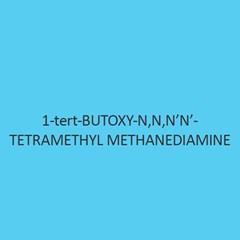 1 Tert Butoxy N N N N Tetramethyl Methanediamine