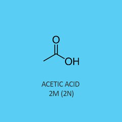 Acetic Acid 2M 2N Standardized Solution traceable to NIST