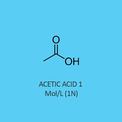 Acetic Acid 1 Mol Standardized Solution traceable to NIST
