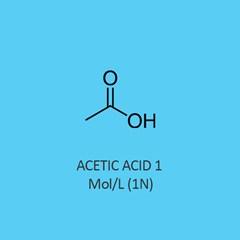Acetic Acid 1 Mol Standardized Solution traceable to NIST