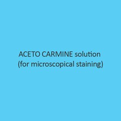Aceto Carmine Solution for microscopical staining