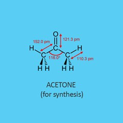 Acetone for synthesis
