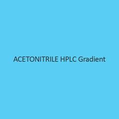 Acetonitrile HPLC Gradient