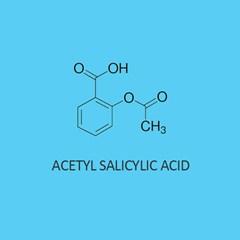 Acetyl Salicylic Acid for lab use aspirin